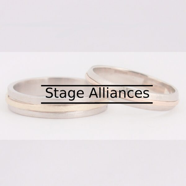 Réservez votre stage alliance à l'atelier, afin de sceller votre amour grâce à un bijou unique !