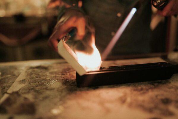 fonte métal artisanale atelier vieux lyon bijoutier createur