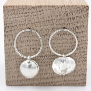Boucles d'oreilles collection Boîte à coeur