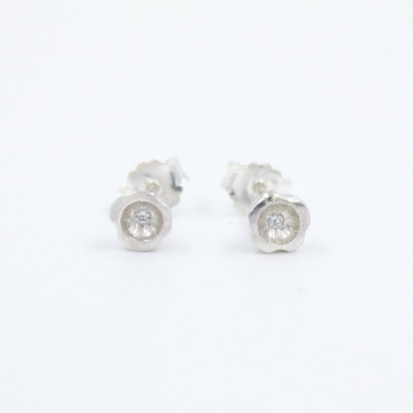 Boucles d'oreilles collection nénuphar